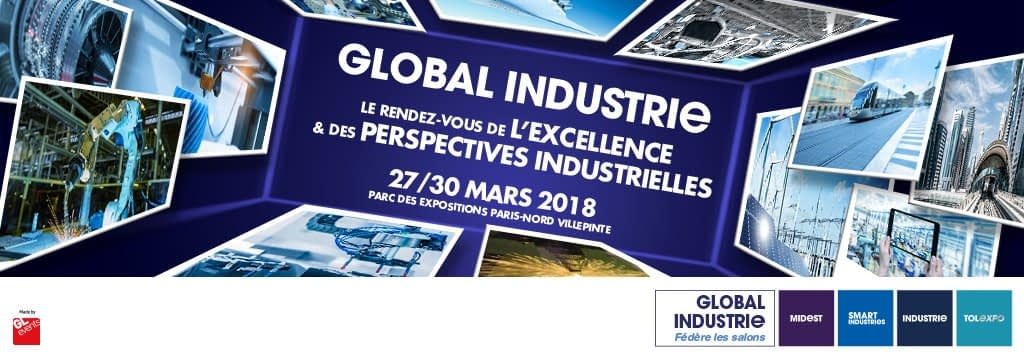 HEIDENHAIN AU SALON GLOBAL INDUSTRIE À PARIS