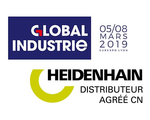 Les nouveaux produits HEIDENHAIN présentés au salon Global Industrie 2019