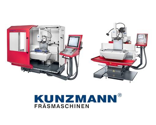 KUNZMANN : Fabricant allemand de fraiseuses manuelles et CNC