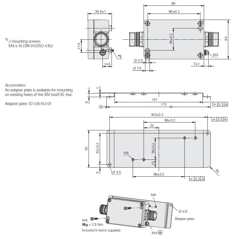 boitier IBV 100 - schéma