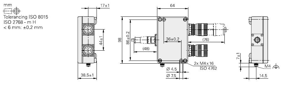 boitier EIB 1500 - schéma